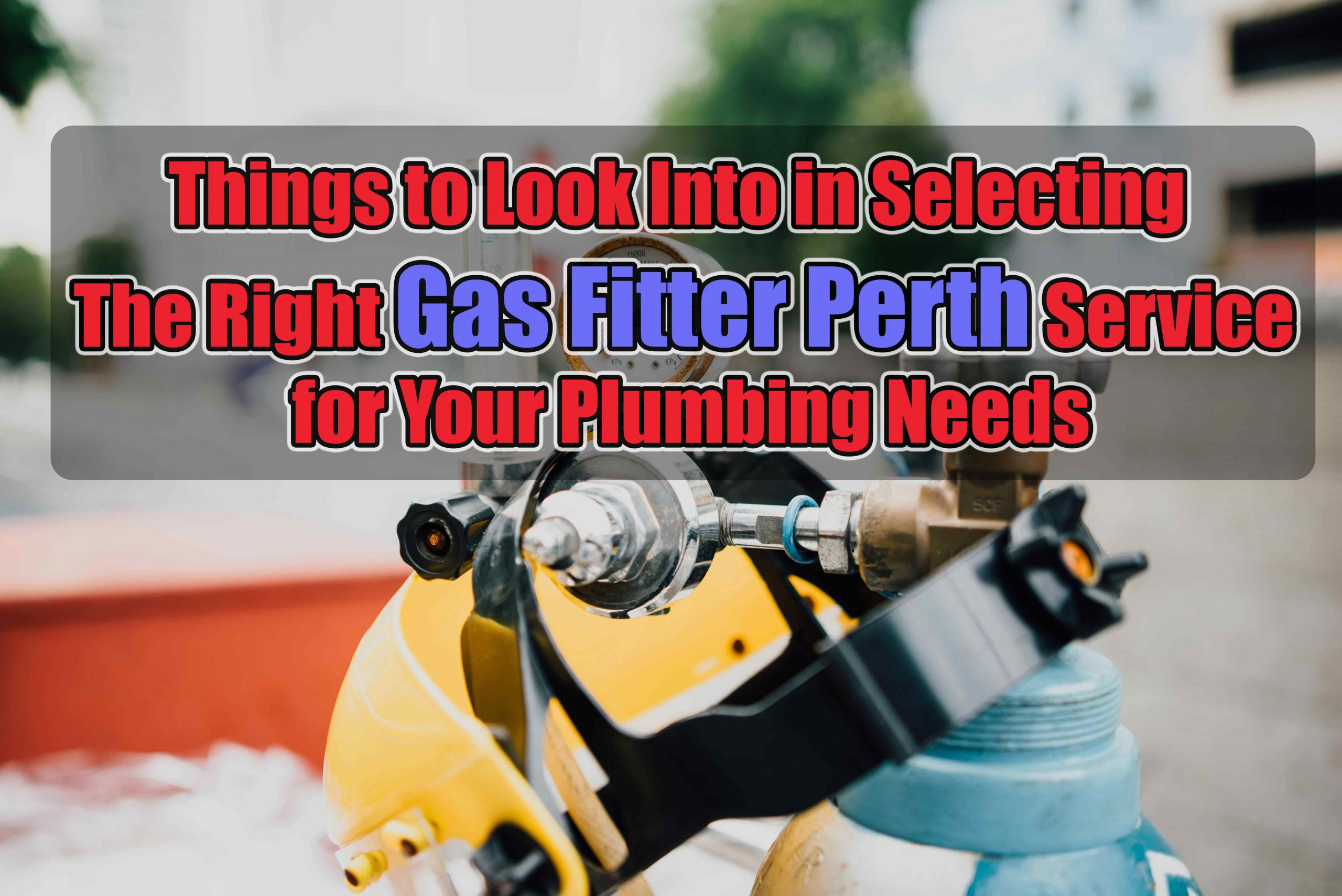 Gas Fitter Perth